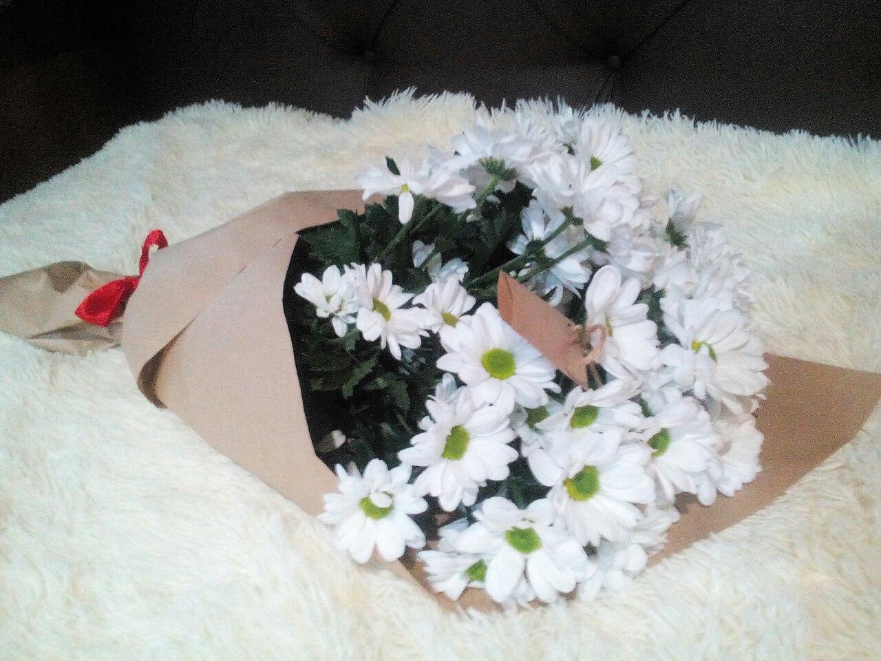Делаем букет из хризантем сами: советы и мастер-класс 54